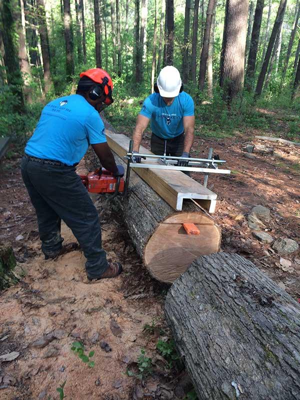 Team at Carolina Tree Monkeys